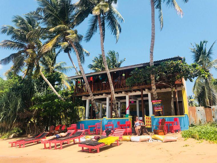 Das Lucky Beach Tangalle in Sri Lanka.