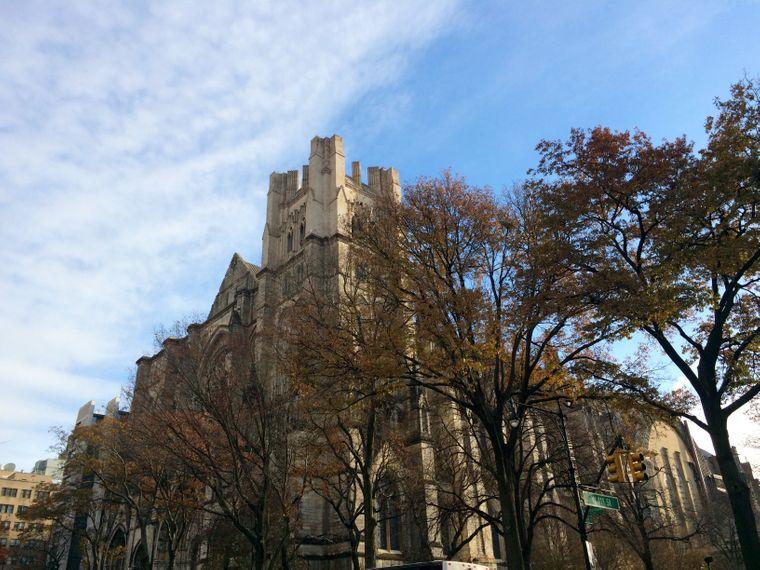 Die Kathedrale Saint John the Divine an der Upper West Side.