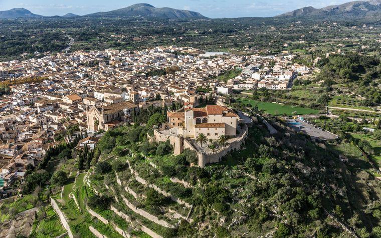 Die Stadt Artà befindet sich im Nordosten Mallorcas.