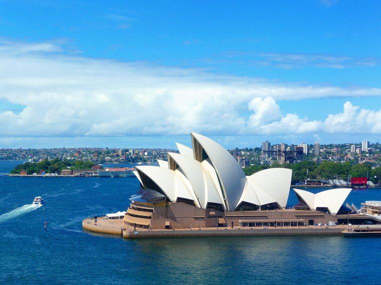 Das Opernhaus ist der Hingucker von Sydney. Im Ranking der lebenswertesten Städte belegt die australische Stadt Platz fünf.
