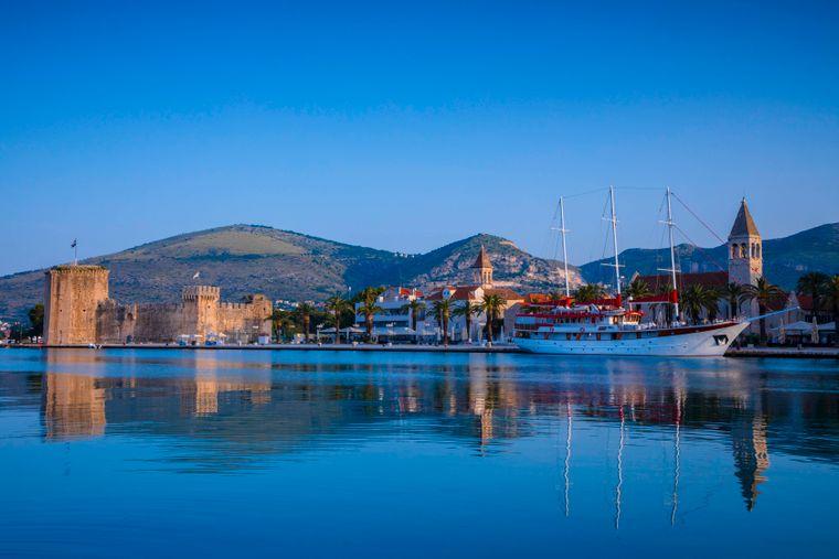 Trogir in Kroatien.