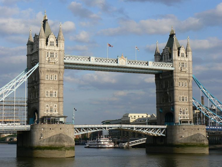 Tower Bridge, London, Großbritannien.