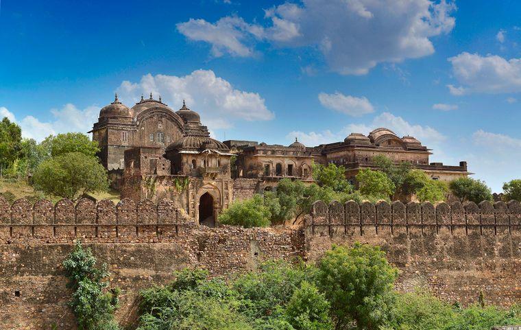 Six Senses Fort Barwara in Indien.