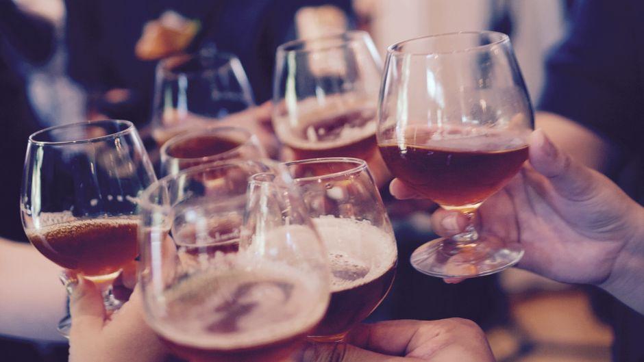 Ein paar Biere in geselliger Runde: Einfach schön!