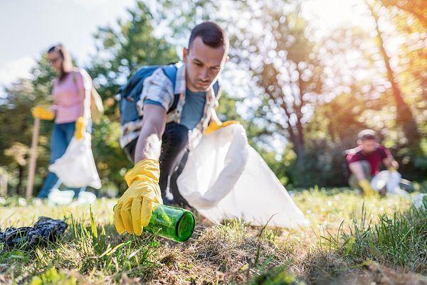 Mach mit beim Clean up Day und unterstütze damit die Umweltfreundlichkeit.