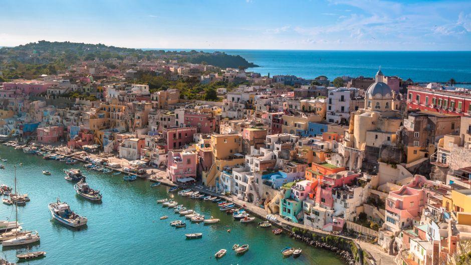 Die pittoreske Insel Procida im Golf von Neapel ist ein Geheimtipp für Urlauber.