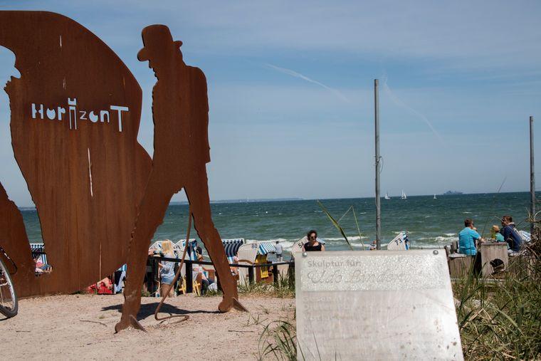 Auf Udo Lindenberg triffst du auch ab und zu persönlich in Timmendorfer Strand.
