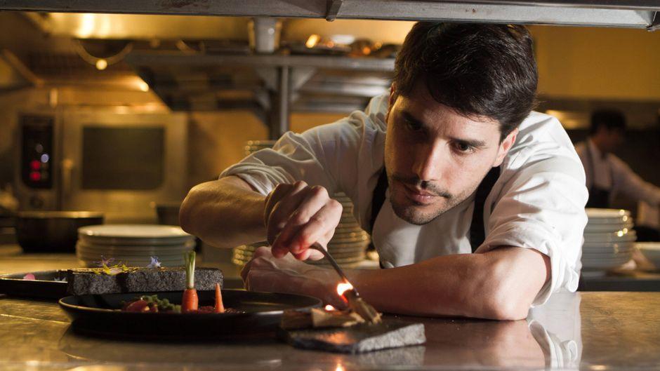 Spitzenkoch Virgilio Martínez Veliz in seinem Central Restaurante in Miraflores, Peru.