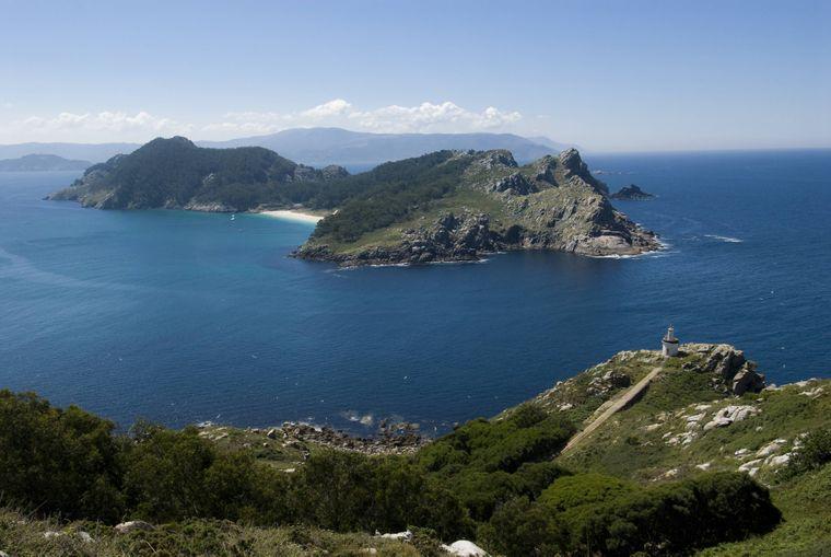 Geheimtipp: Die Illas Cíes liegen vor der Nordwestküste Spaniens.
