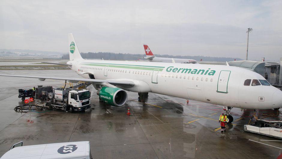 Die deutsche Airline Germania hat den Flugbetrieb eingestellt.