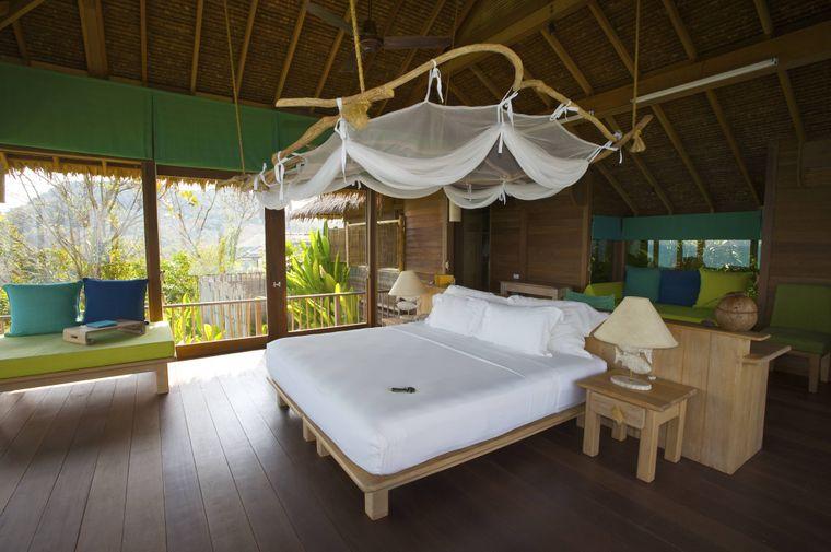 Luxuszimmer im thailändischen Six Senses Hideaway Resort.