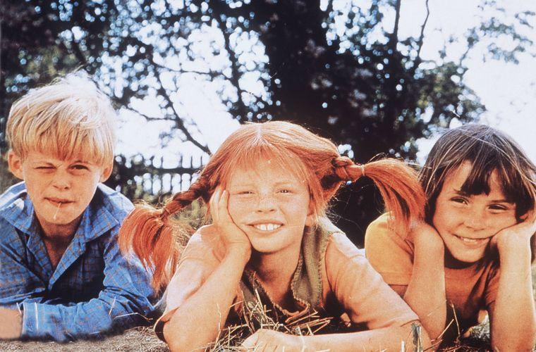 """In der Fiskegränd in Visby wurden Szenen für den Film """"Pippis neue Freunde"""" gedreht."""