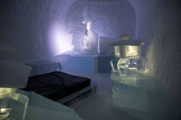 Das Eishotel in Schweden lässt dich frösteln.