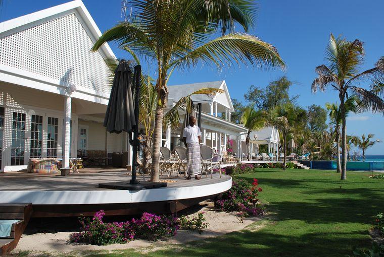 Die Villa mit großer Terrasse ist dem Feriensitz der Kennedys nachempfunden