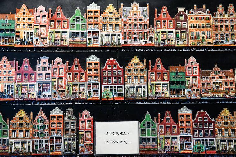 Souvenirs in Amsterdam.