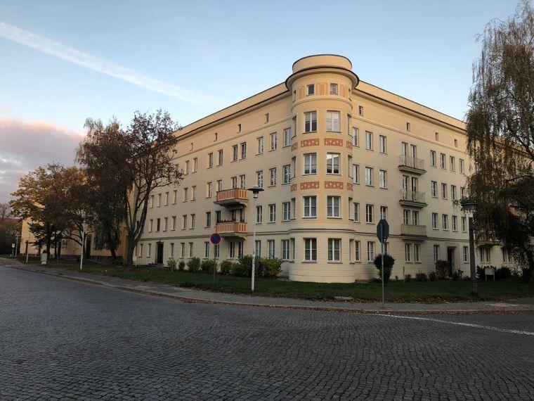 Prachtvolles Wohnhaus im Wohnkomplex II, Eisenhüttenstadt.