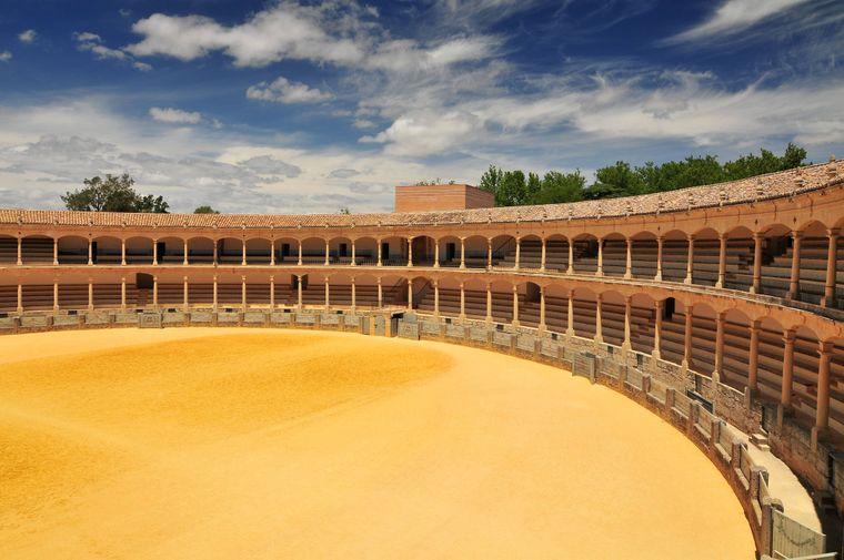 Die prächtige Plaza de Toros in Ronda wurde 1785 eröffnet.