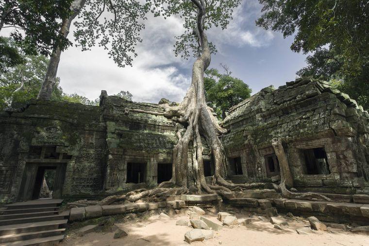 """In Angkor Wat wurden Teile von """"Tomb Raider"""" gedreht."""