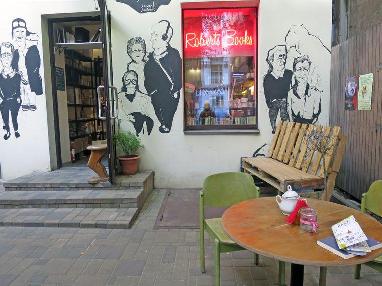 Roberts Books in Riga.