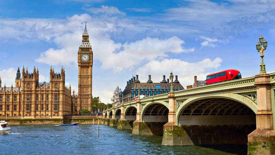 Von wegen Big Ben: Der berühmte Uhrenturm in London heißt Elizabeth Tower.