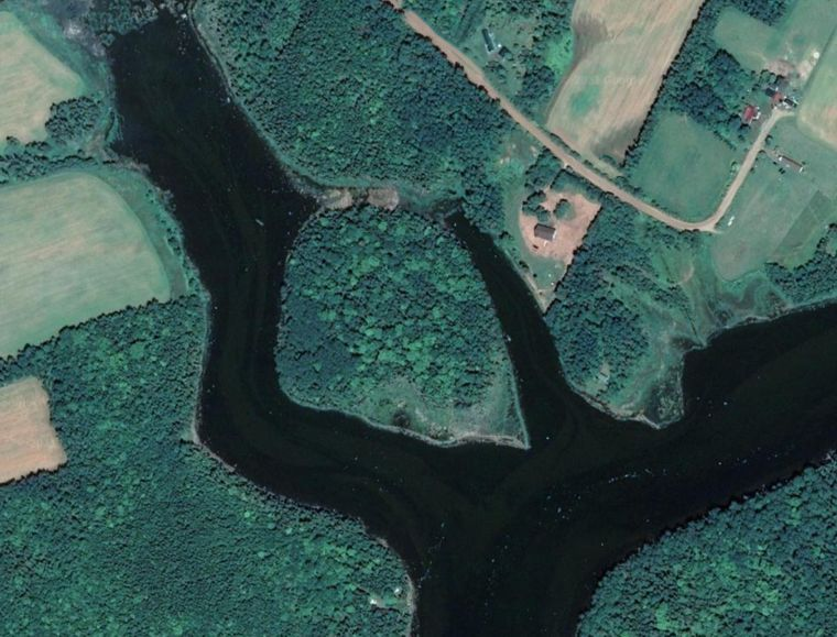 Paddelparadies für unter 100.000 Euro: Gillis Island in Kanada.