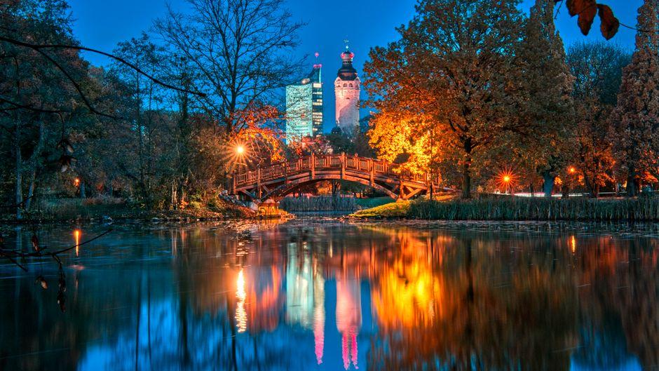 Warum du 2020 unbedingt nach Leipzig fahren solltest? Ein Grund ist dieser schöne Ausblick.
