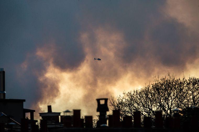 Der Brand der Kathedrale Notre-Dame war von Weitem zu sehen.