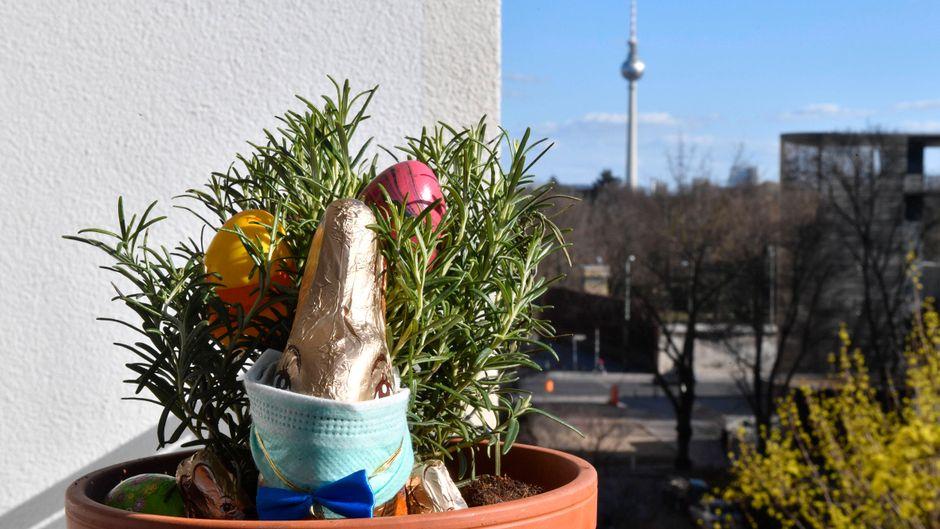 Ostern findet in diesem Jahr zu Hause statt. (Symbolbild)