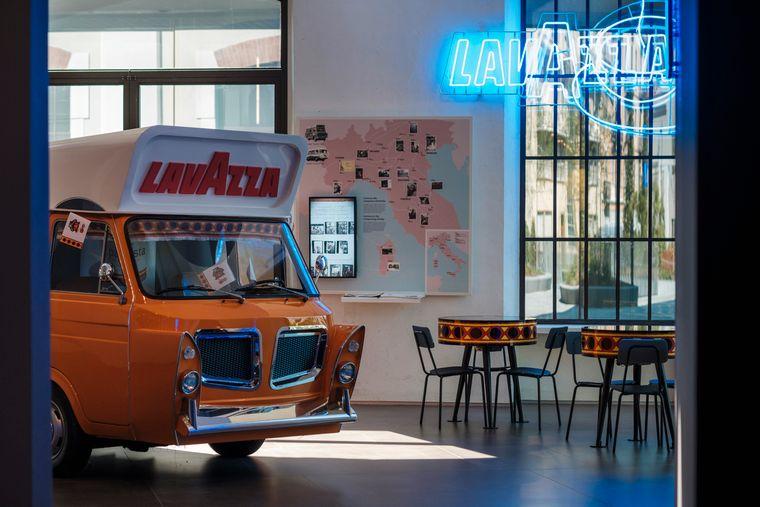 Im Lavazza-Museum, in dem sich alles um den Kaffee dreht, gibt es unterschiedliche Themenbereiche.