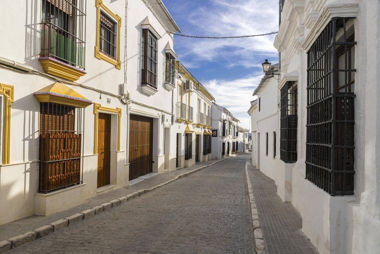 Typische südspanische Architektur kann im andalusischen Osuna bestaunt werden.