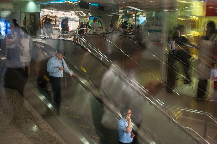 Die Metro, das gefräßige Ungetüm im Untergrund.