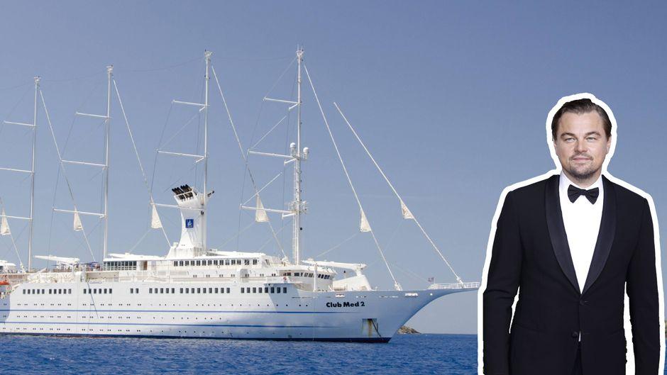 """Der """"Titanic""""-Star Leonardo DiCaprio rettete einen Mann, der vom Kreuzfahrtschiff gestürzt war."""