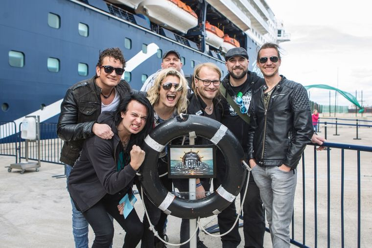 Check-in bei der Full Metal Cruise V.