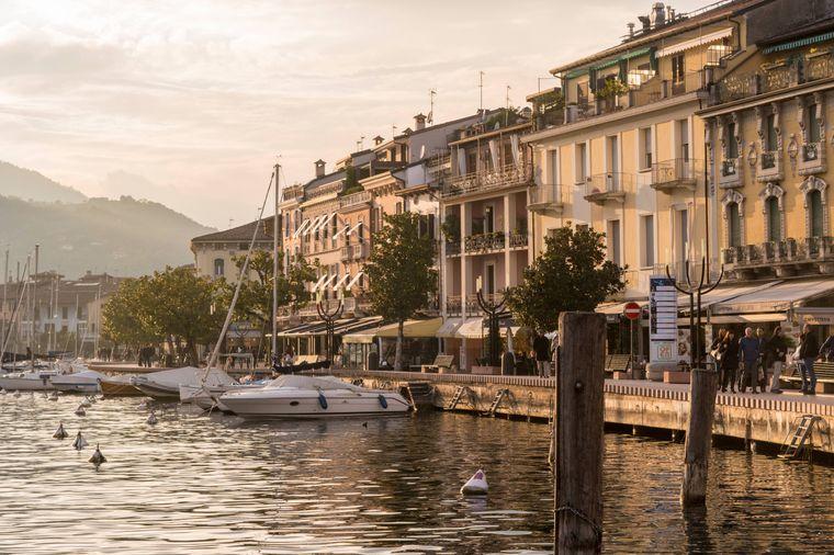 Salò am Gardasee gilt als Hotspot der italienischen High Society.
