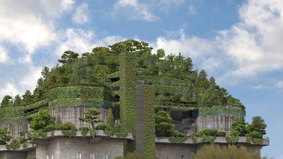 Auf dem Dach des Bunkers in St. Pauli soll 2021 das Hotel nhow Hamburg eröffnen.