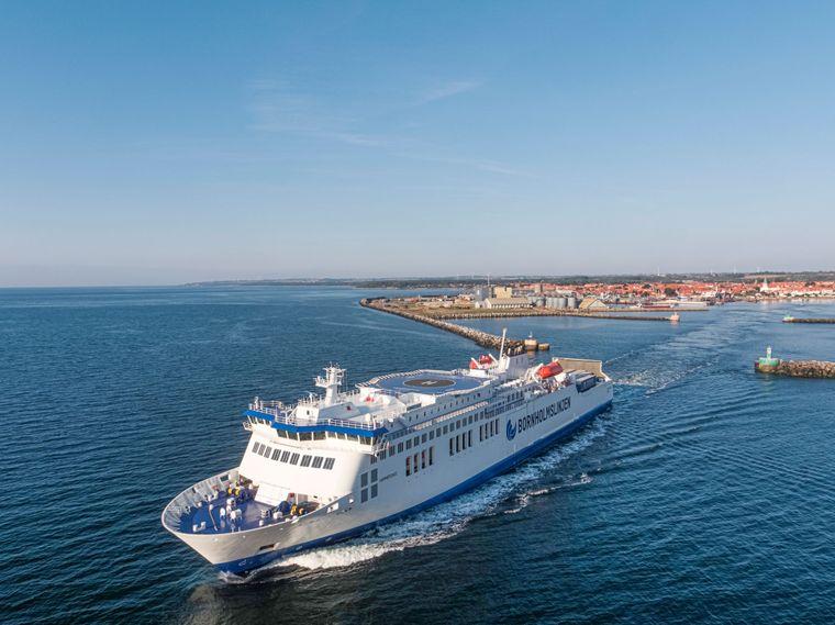 Hammershus ferry
