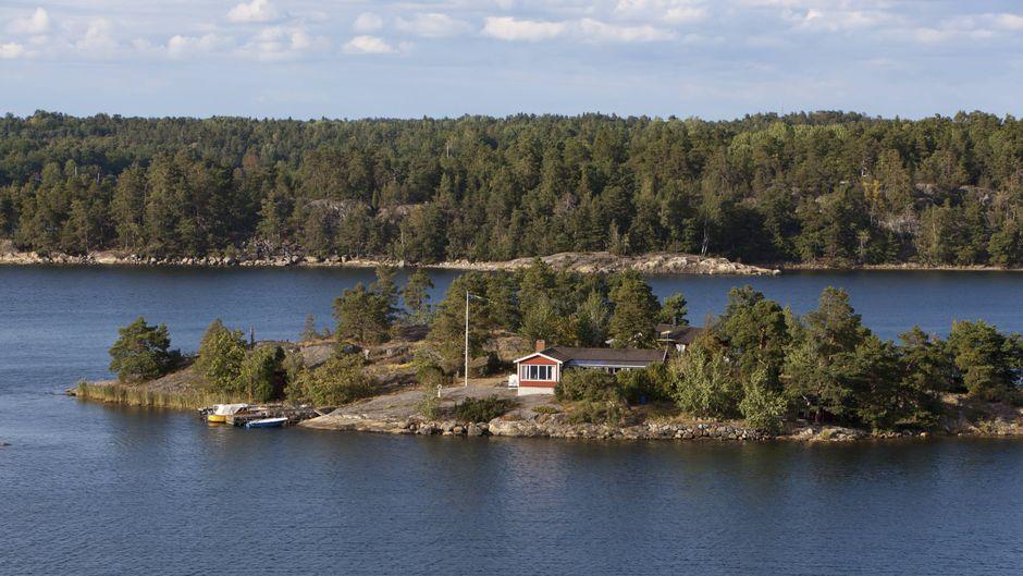Insel in Schwedens Schärengärten