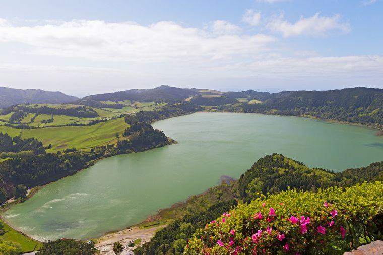 Die Landschaft auf den Azoren ist so vielfältig und immer faszinierend.