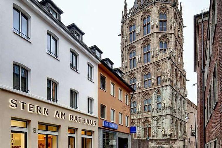 Das Hotel Stern am Rathaus.