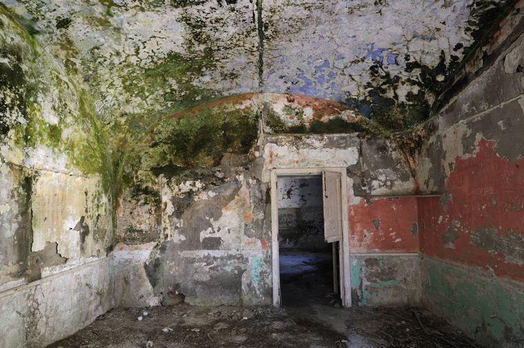 So sieht es in den Zellen der Gefängnis-Insel aus.