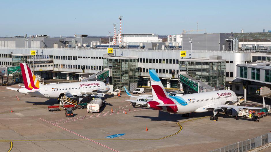 Mehr als 100 Maschinen bleiben wegen des Streiks bei Germanwings am Boden. (Symbolfoto)