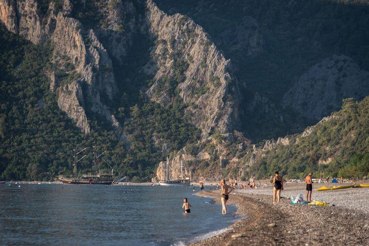 Strand beim Mount Olympos in Cirali.