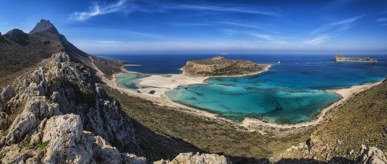 Balos Beach in Griechenland