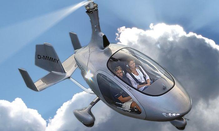 Helicopter-Rundflug.