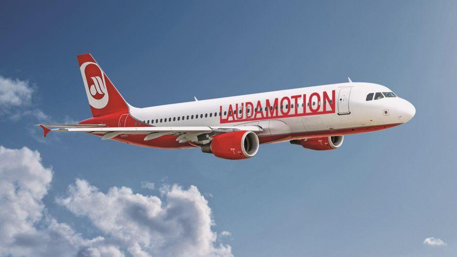 Die österreichische Airline Laudamotion fliegt nun auch für Eurowings.
