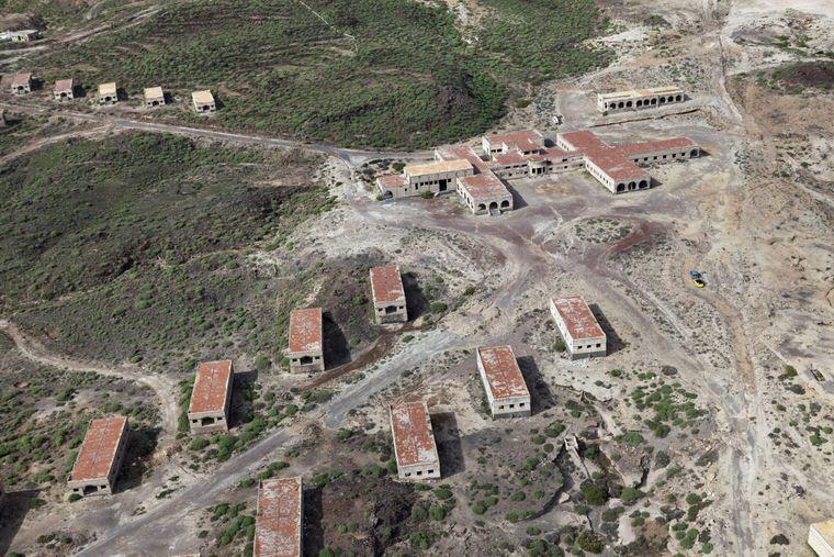 Una colonia de leprosos abandonada en Tenerife.