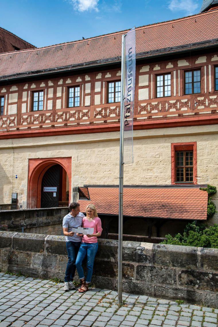 Die Kaiserpfalz mit dem Pfalzmuseum in Forchheim.