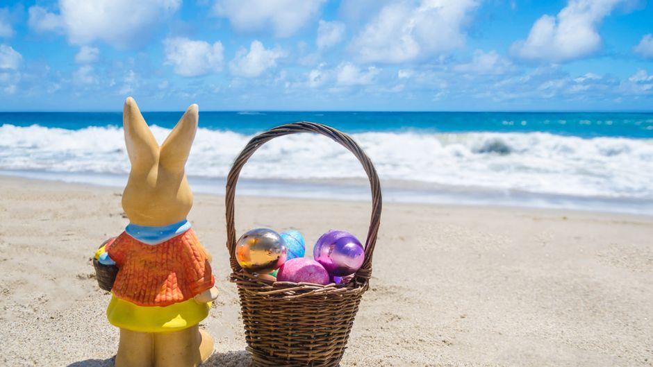Ostern an den Strand? Das ist auch im Jahr 2021 unsicher.