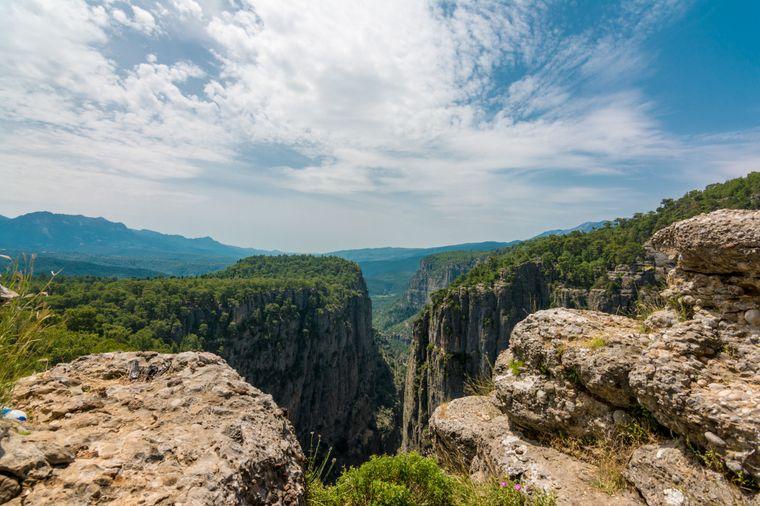 Der Tazi-Canyon liegt in der türkischen Provinz Antalya.