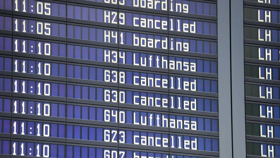 Diesen Sommer gab es in Europa so viele Flugausfälle wie kaum je zuvor.